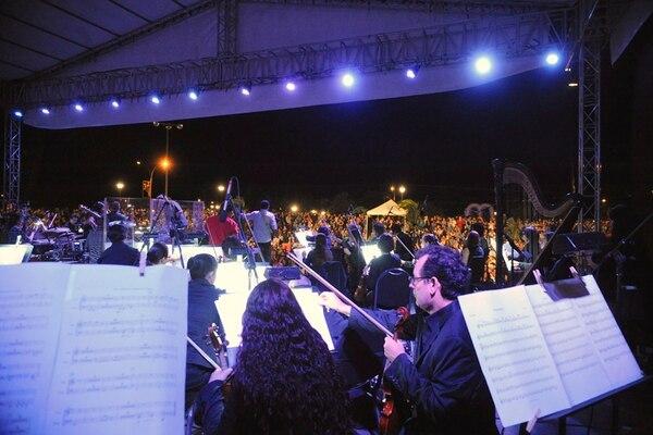 Recuerdo. La música que se tocó en los conciertos del Verano Sinfónico estará reunida en uno de los discos de la Sinfónica. Jonathan Jiménez para LN.