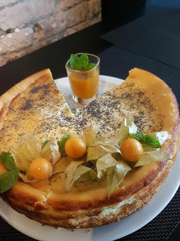 Cheesecake de uchuvas . Foto: Orvieto Morales