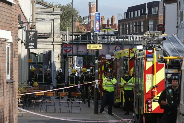 El incidente dejó 22 personas heridas