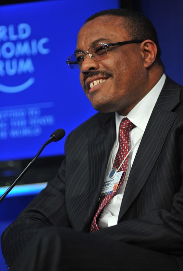 Hailemariam Desalegn, primer ministro etíope, ha sido criticado por violar libertad de prensa. | ARCHIVO.