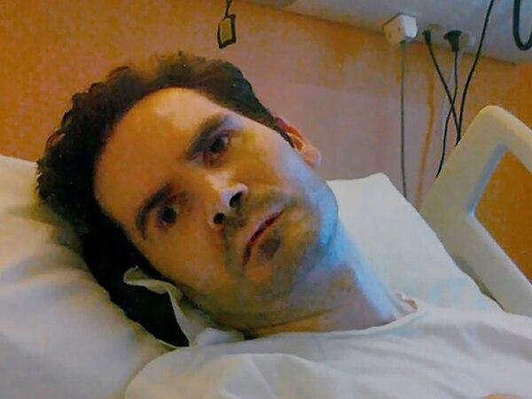 Vincent Lambert en un hospital de la ciudad francesa de Reims, el 8 de diciembre del 2014. Foto: AFP