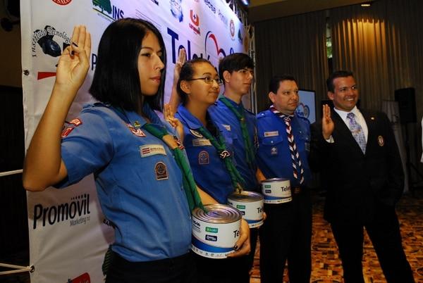 Desde hace 17 años los Guías y Scouts son parte fundamental de la Teletón. | MARIO ROJAS.