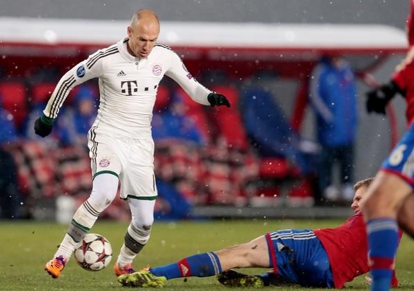 El holandés Arjen Robben es una de las estrellas del Bayern Múnich que este sábado recibirá al Eintracht Braunschweig.
