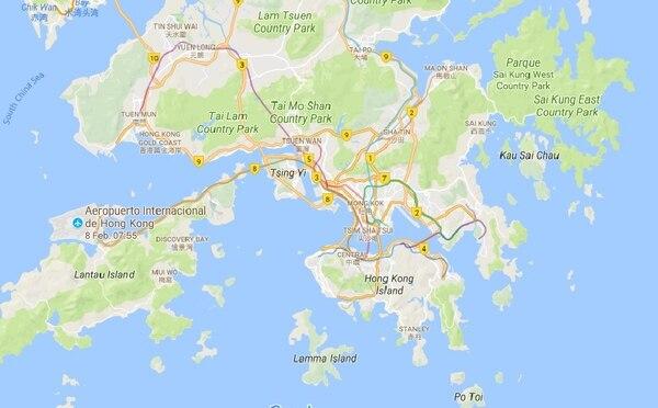 En Hong Kong viven poco más de 7 millones de personas.