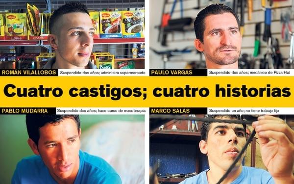 Cuatro sancionados por dopaje cuentan sus historias