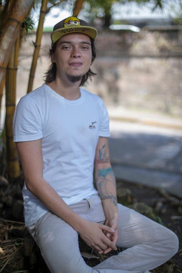 David Vargas fue el último integrante en sumarse a Infibeat. junto con Granados y Allan Padilla, conforma 3 Ensamble. Foto: José Cordero