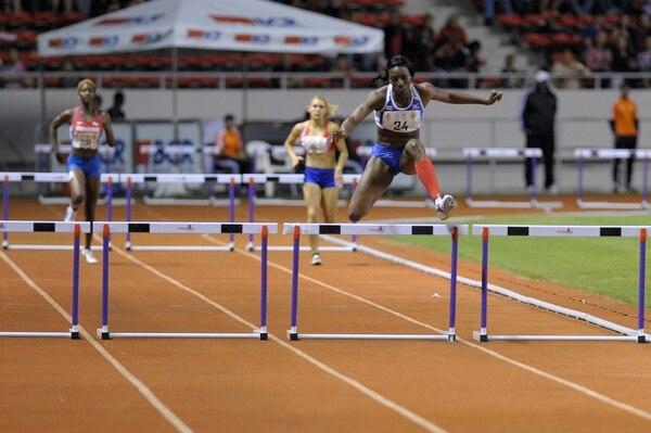 En marzo anterior Sharolyn Scott (24) ganó oro en los 400 m vallas de Juegos Centroamericanos.