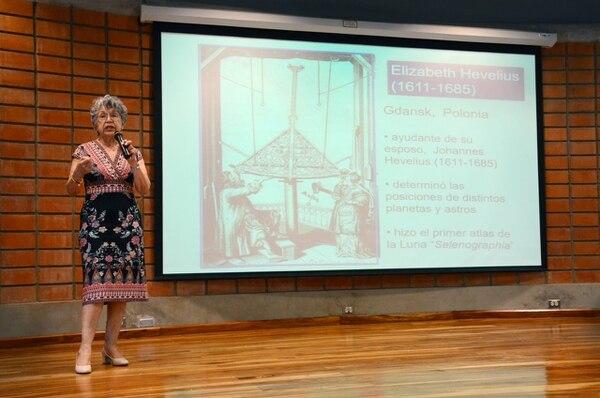 La astrónoma mexicana Silvia Torres visitó el país en mayo de este año. Foto cortesía del Tec