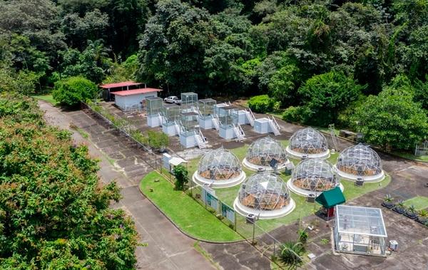 Vista aérea del Instituto Smithsonian de Investigaciones Tropicales, en Gamboa, Panamá. (Luis ACOSTA / AFP)
