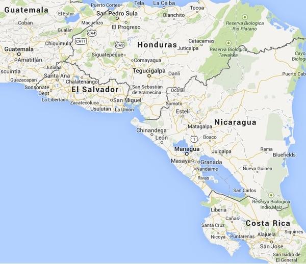 El epicentro fue frente a las costas de Usulután, en El Salvador.