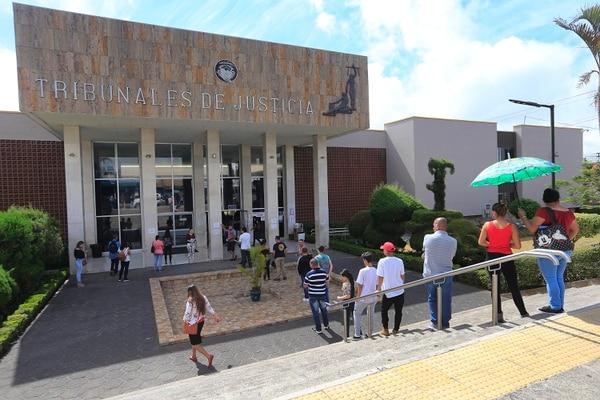 La condena la dicto el Juzgado Penal de Cartago el pasado 3 de setiembre. Foto: Rafael Pacheco con fines ilustrativos.