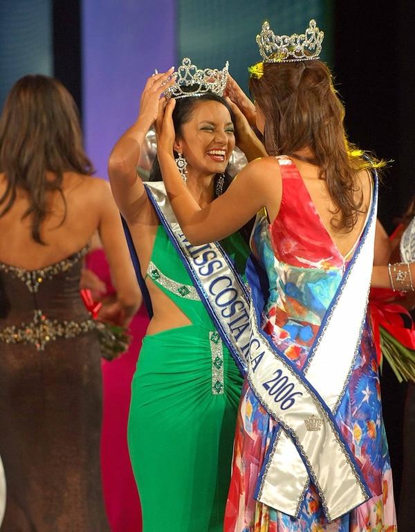 Corona. | GONZÁLEZ FUE MISS COSTA RICA EN EL 2007. DOCUMENTACIÓN LN