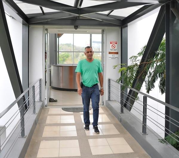 Juan Carlos Román atendió a los medios de comunicación el pasado lunes en el Proyecto Gol. | RAFAEL MURILLO