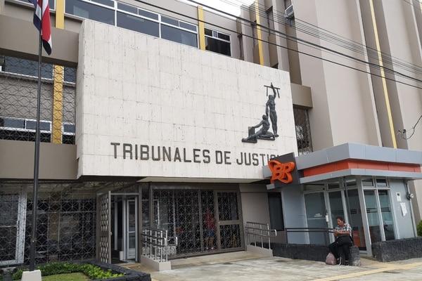 Tribunal de Pérez Zeledón. Foto: Mario Cordero, corresponsal GN