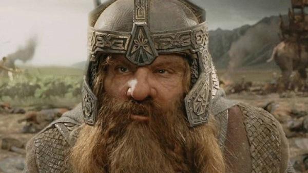El actor John Rhys-Davies interpretó a Gimli en la película 'El Señor de los Anillos'. Fotografía: Archivo