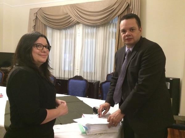 El presidente del Congreso, Gonzalo Ramírez, recibe la solicitud de levantamiento de inmunidad de Celso Gamboa el 8 de febrero a las 7:05 p. m.