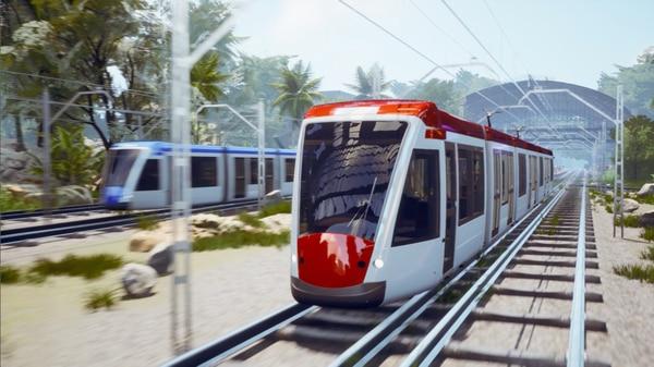 Tren eléctrico recorrería 84 kilómetros a través de 46 estaciones en la Gran Área Metropolitana. Fotografía: Casa Presidencial para La Nación.