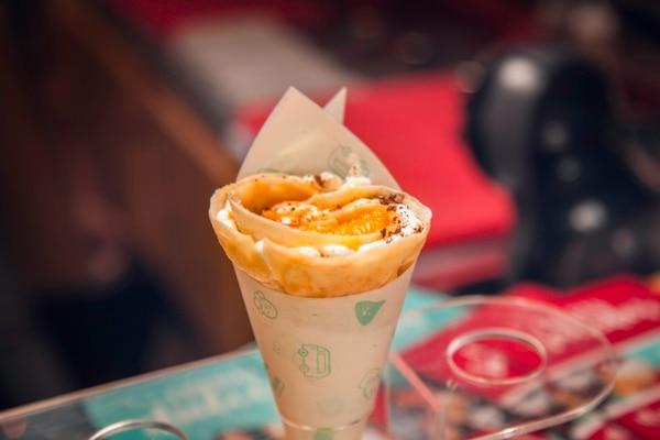 Crepas de naranja y tequila serán la oferta del menú mexicano de Bombona La Vocha Crepera.