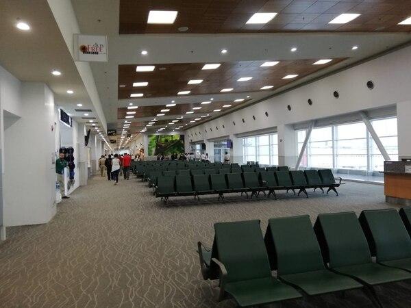 Nuevas salas de abordaje en el aeropuerto de Liberia. Foto: ICT