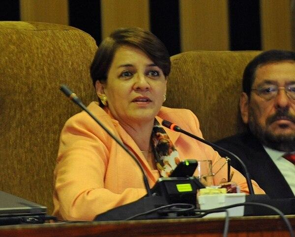 La presidenta de la Sala Tercera, Anabelle León, aseguró que las sentencias solo orales obstaculizan el acceso a la justicia. | MAYELA LÓPEZ / ARCHIVO.