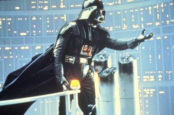 Ícono. Darth Vader es uno de los íconos en la cultura popular desde el estreno de Star Wars en 1977. Archivo.