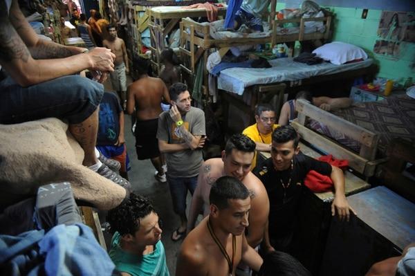 La cárcel Gerardo Rodríguez tiene un hacinamiento crítico. Donde caben 535 reos, hay 1.545 (188,79% de exceso). | ARCHIVO / JORGE NAVARRO.