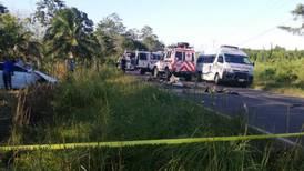 Choque entre vehículos deja un fallecido y dos mujeres heridas en Los Chiles